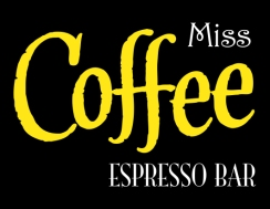 miss coffee on black