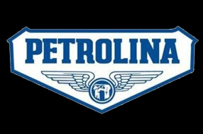 PETROLINA logo on black